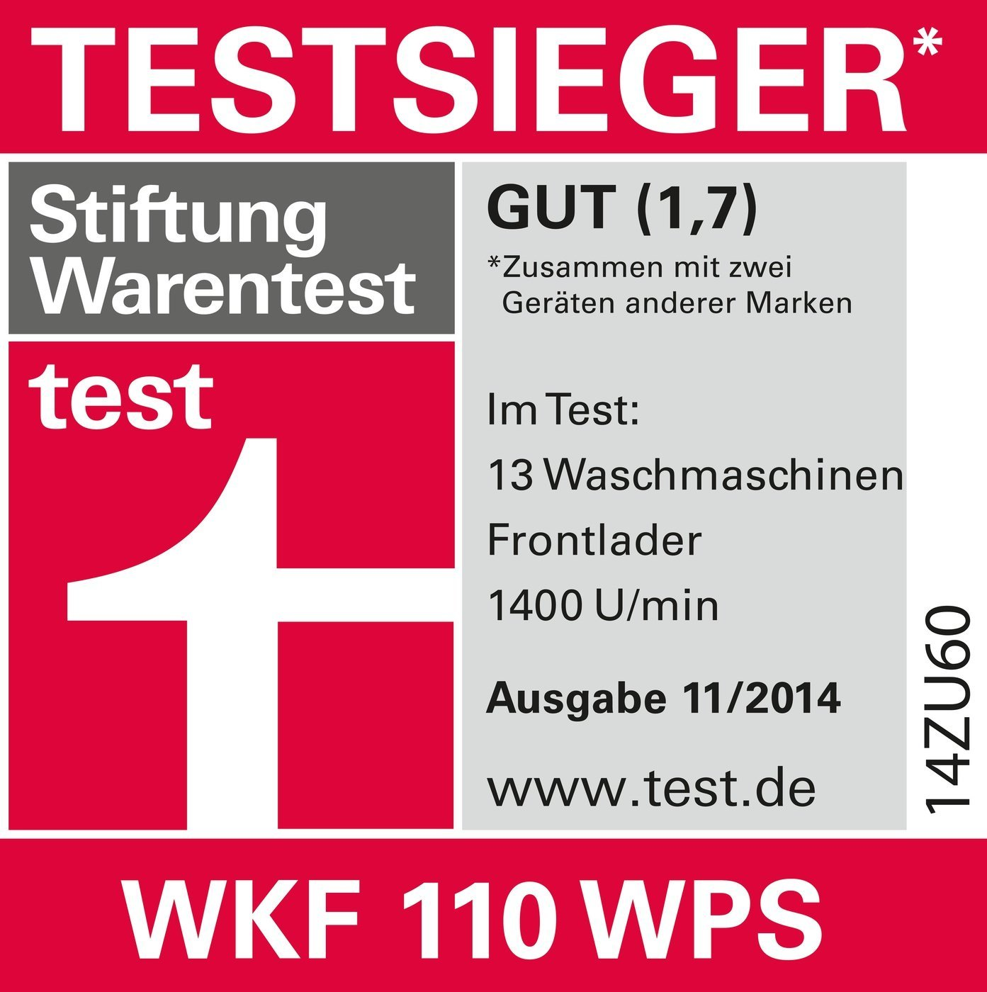 Miele WKF110 Stiftung Warentest