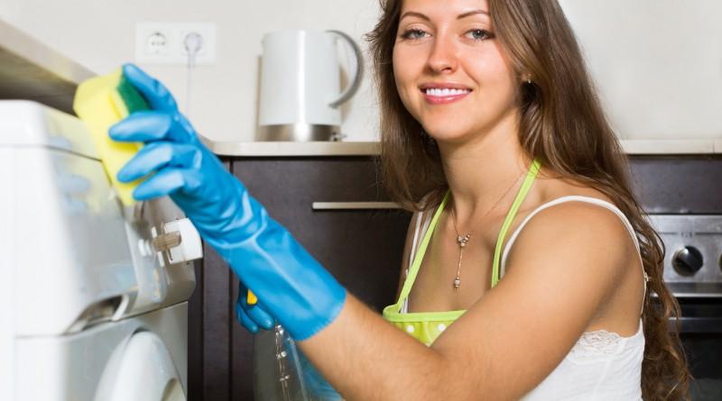 Waschmaschine außen reinigen